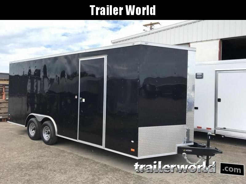 2019 CW  20' 10k GVWR Enclosed Vnose Car Trailer