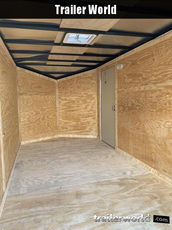 2019 CW 7' x 12' x 6'6 Enclosed Cargo Trailer