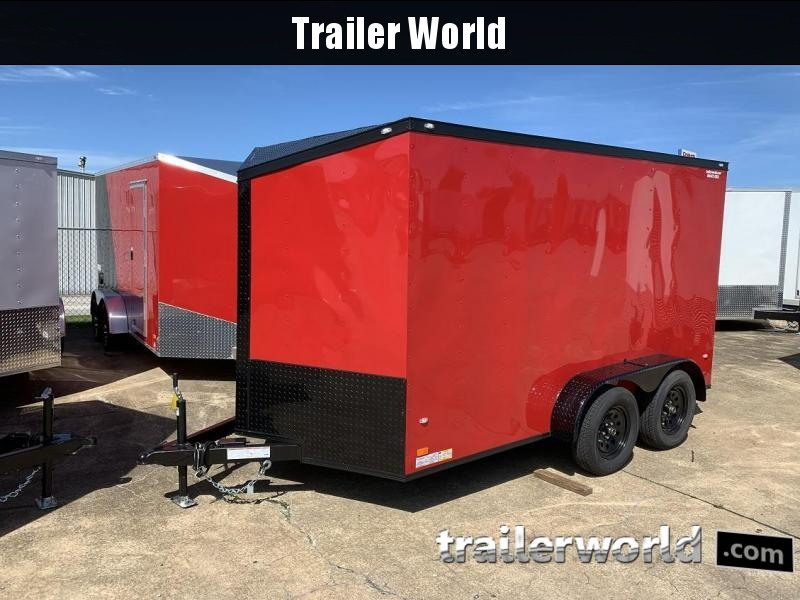 2019 CW 7' x 12' x 6'6 Enclosed Cargo Trailer