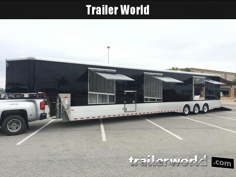 2019 Sundowner Trailers 52' Aluminum Enclosed 3 Car Trailer