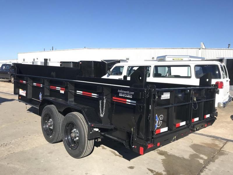 2019 Diamond C LPT 16' Dump Trailer Low Profile Commercial Grade 18k GVWR