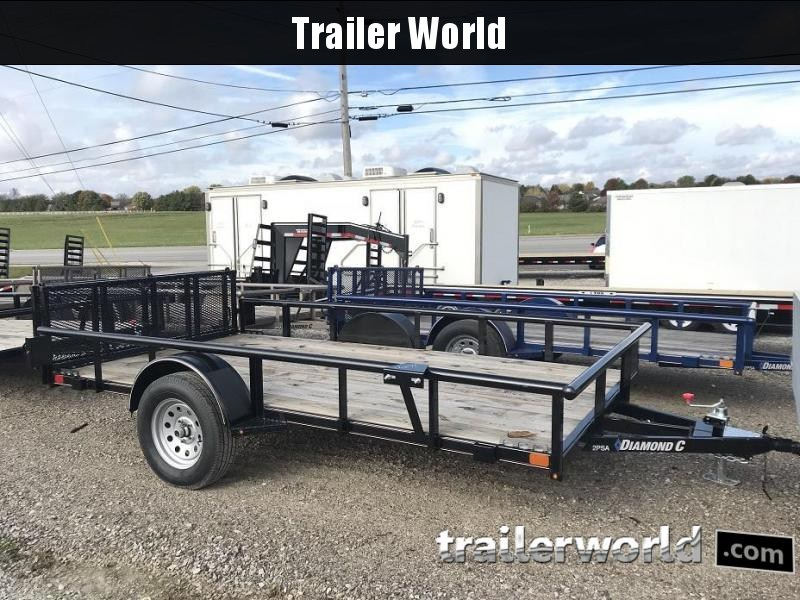 "2018 Diamond C 2PSA 12' x 77"" Utility Trailer - CLEARANCE in Ashburn, VA"