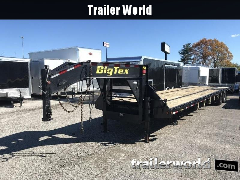 2015 Big Tex Trailers 22GN-35' + 5'  Equipment Trailer MEGA Ramps