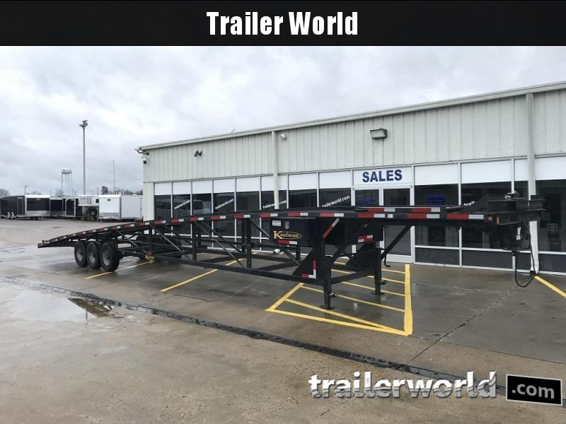2013 Kaufman Trailers 50 ft. Triaxle Wedge 3 Car Trailer