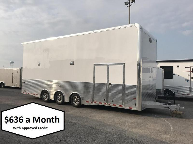 2019 Sundowner 28' Aluminum Stacker Trailer