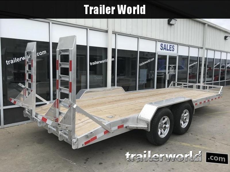 2018 Sundowner APU18BP 18' Aluminum Equipment Trailer