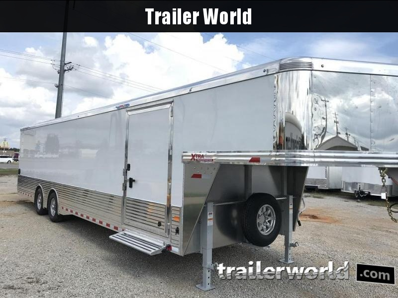 2019 Sundowner 38' Aluminum Gooseneck Enclosed Car Trailer