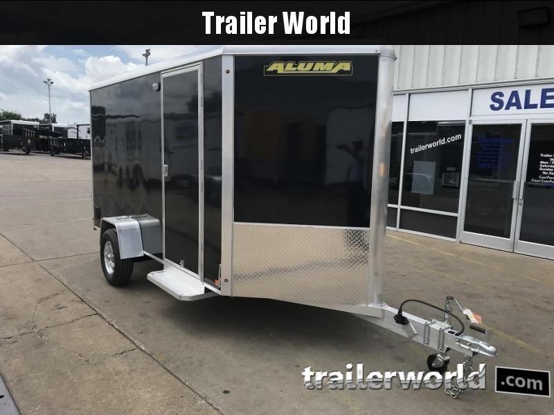 "2019 Aluma AE612 6' x 12' x 6'6"" Enclosed Cargo Trailer"