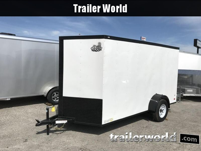 "2018 CW  6' x 12' x 6'3"" Vnose Enclosed Cargo Trailer"
