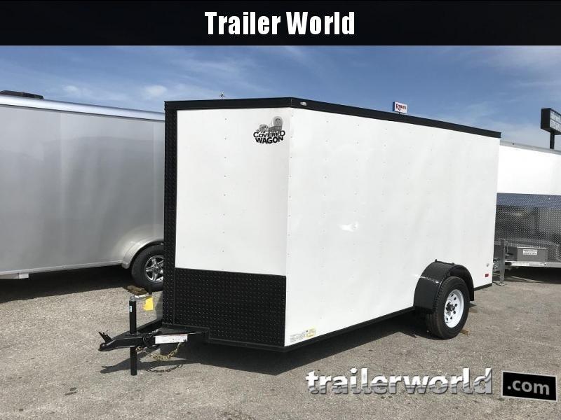 "2018 CW  6' x 12' x 6'3"" Vnose Enclosed Cargo Trailer"