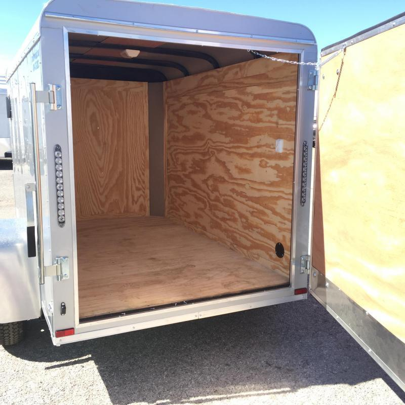2019 Lark 5' x 8'  Enclosed Cargo Trailer