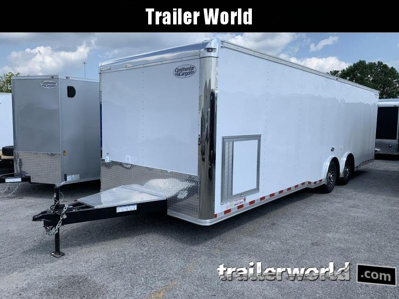 2020 Continental Trailers 28' Race Trailer Spread Axles