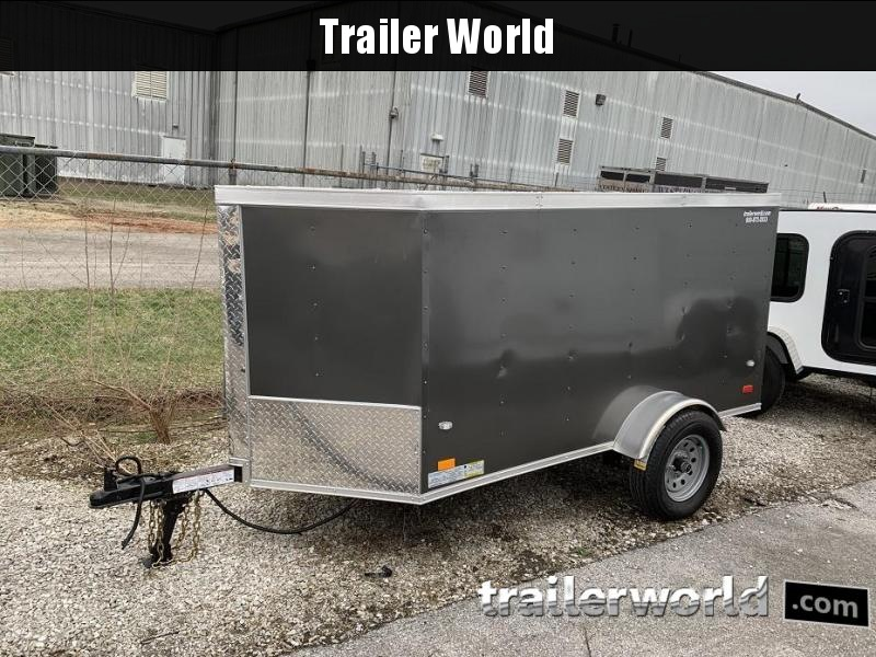 2019 CW  4' x 8' Vnose Enclosed Cargo Trailer