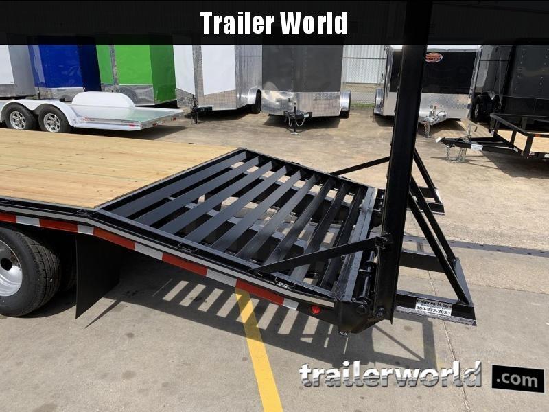 2019 Better Built 20' + 5'  10 Ton Pintle Hitch Equipment Trailer
