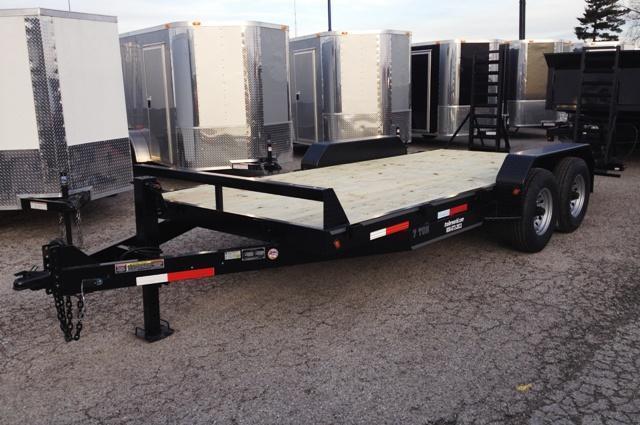 2018 Better Built 18'  7 Ton Equipment Trailer