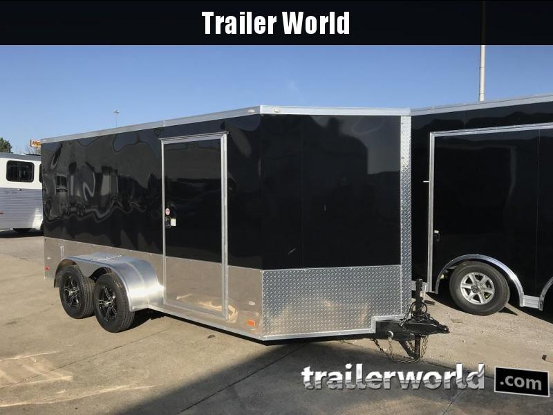 2018 CW 7' x 14' x 6.5' Vnose Enclosed Cargo Trailer