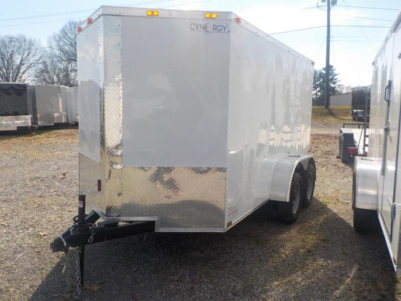 2019 Cynergy Cargo CCL 6 x 12 TA Enclosed Cargo Trailer