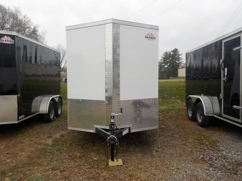 2019 Rock Solid Cargo RS 6 X 12TA Enclosed Cargo Trailer Double Rear Doors