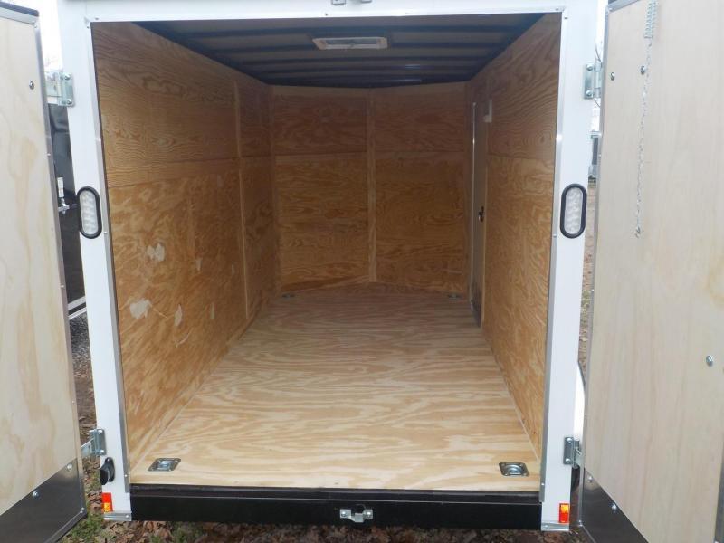 2019 Rock Solid Cargo RS 6 X 12TA Enclosed Cargo Trailer Double Rear Doors