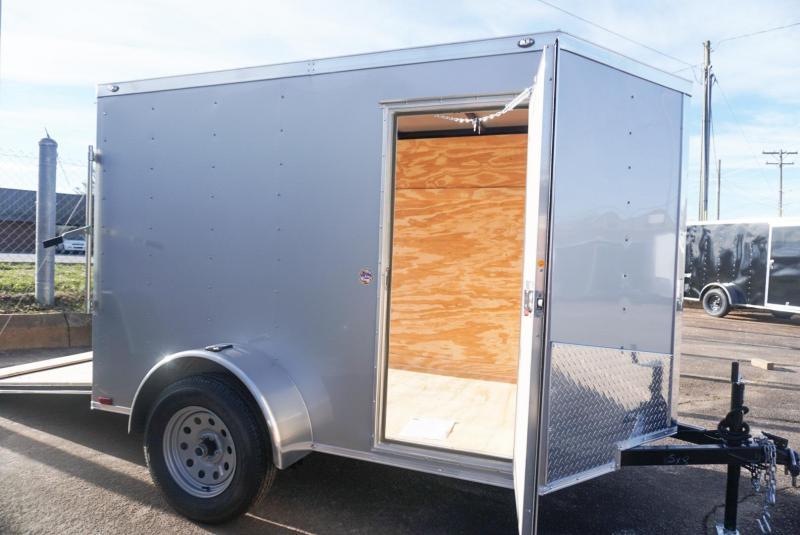 2019 Spartan SP 5 X 8SA Enclosed Cargo Trailer w/Ramp Door