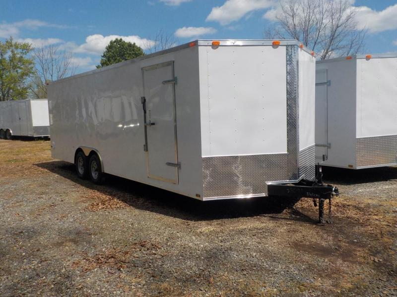 2019 Cynergy Cargo CCL 8.5 X 20 TA2 Car / Racing Trailer in White Stone, SC