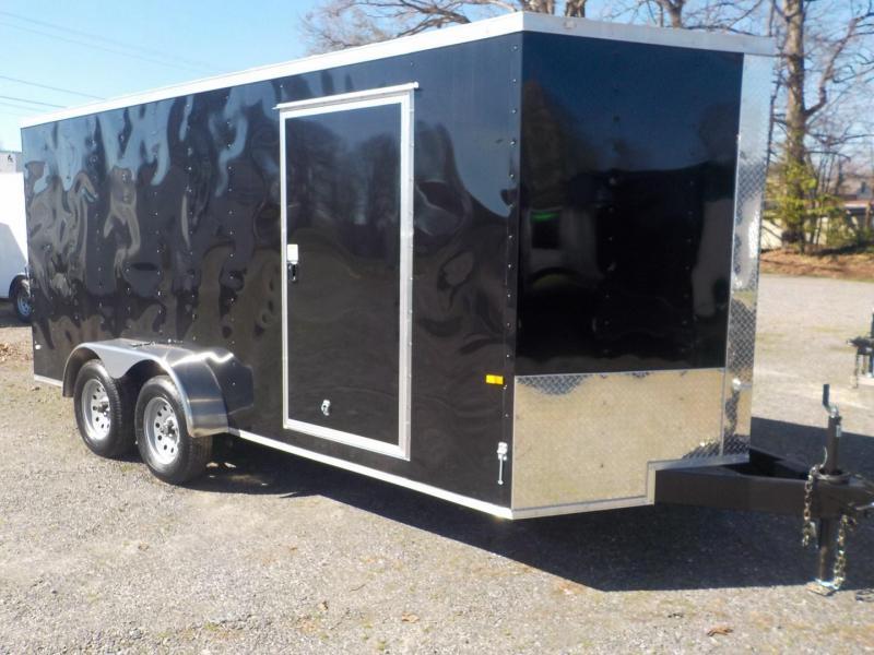 2019 Rock Solid Cargo RS 7 x 16 TA Enclosed Cargo Trailer