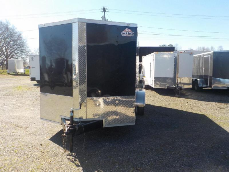 2019 Rock Solid Cargo RS7X14TA Enclosed Cargo Trailer w/Ramp Door