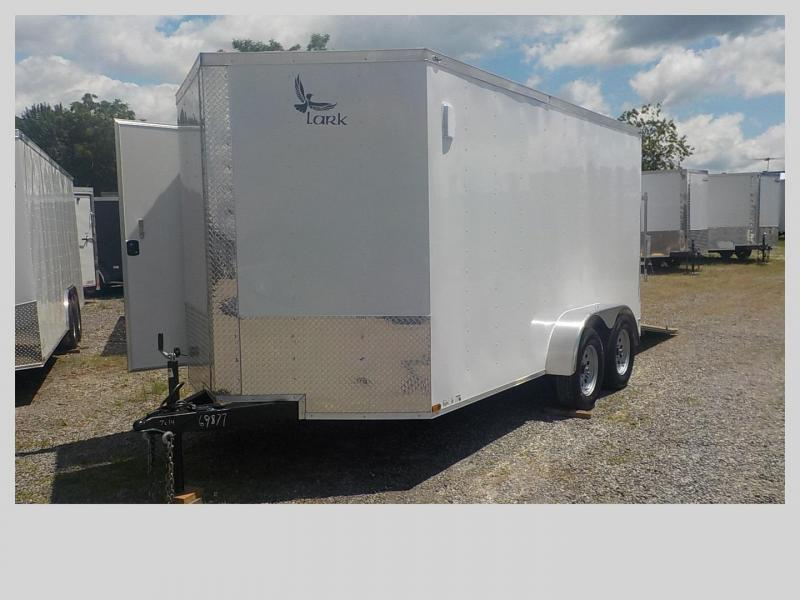 2019 Lark VT7X14TA Enclosed Cargo Trailer in Todd, NC