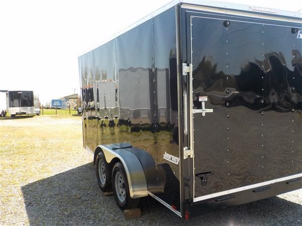 2019 Pace American Journey Wedge 7 x 14 TA Enclosed Cargo Trailer with Ramp Door