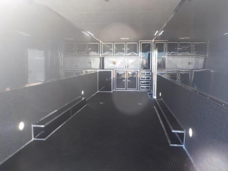 2019 Cargo Mate GAEL8.5 X 32TTA4 Car / Racing Trailer