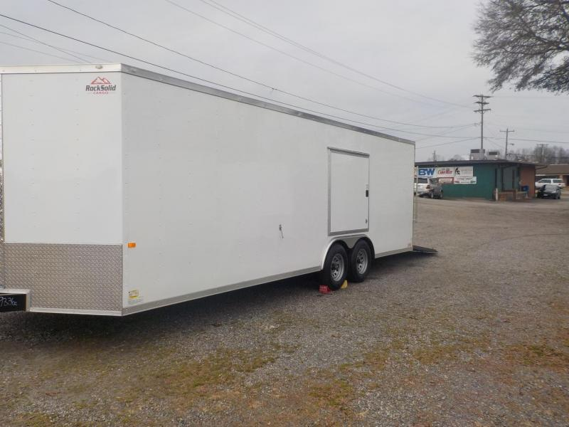 2019 Rock Solid Cargo RS8.5X24TA3 Car / Racing Trailer