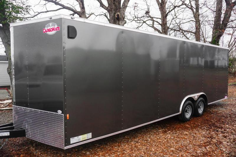 2019 Cargo Mate GANS8.524TA3 Car / Racing Trailer