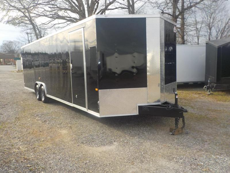 2019 Rock Solid Cargo RS8.5X28TA3 Car / Racing Trailer in White Stone, SC