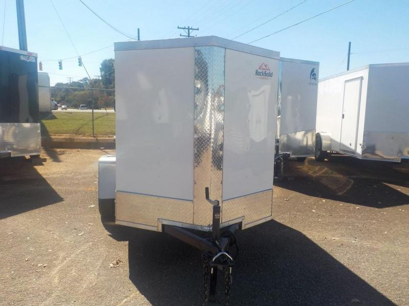 2019 Rock Solid Cargo RS5X8SA Enclosed Cargo Trailer in Mills River, NC