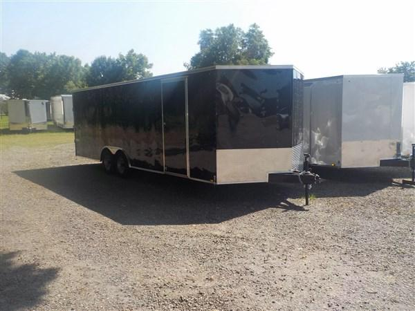 2019 Pace American Journey 8.5 x 24  Enclosed Car Trailer