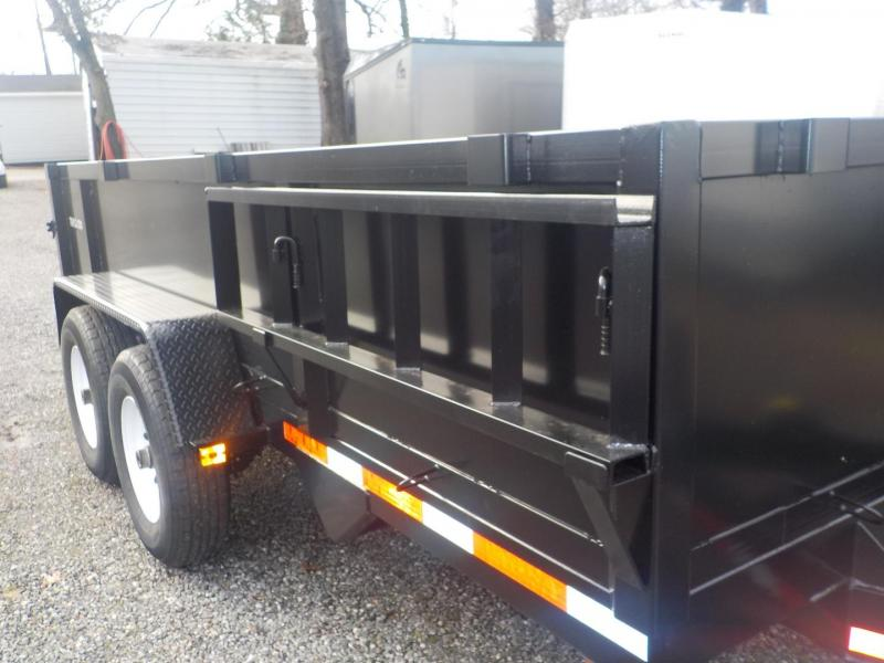 2019 Triple Crown Trailers Heavy Duty Dump Utility Trailer