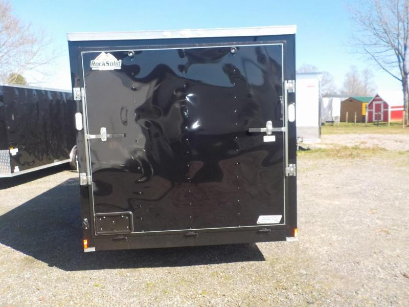 2020 Rock Solid Cargo RS 7 x 14 TA Enclosed Cargo Trailer