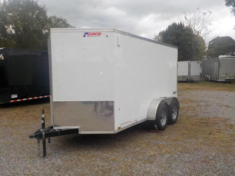 2019 Pace American Journey 6 Wide Tandem Axle Cargo / Enclosed Trailer in Winnsboro, SC