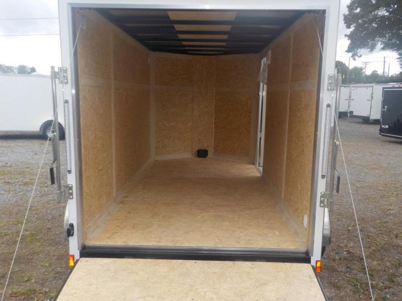 2019 Pace American Journey 6 X12 Tandem Axle Cargo / Enclosed Trailer