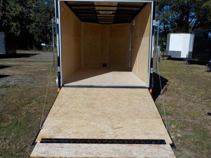 2019 Pace American Journey Wedge 7 x 12 TA  Enclosed Cargo Trailer w/Ramp Door