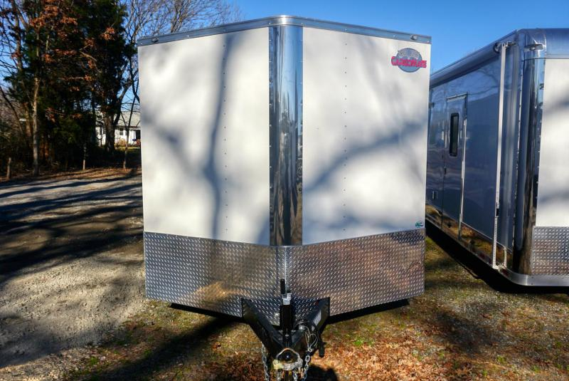 2019 Cargo Mate GANS8.524TA3 Car / Racing Trailer in White Stone, SC