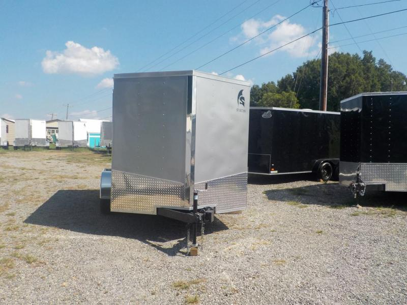 2019 Spartan SP 7 x 14 TA Enclosed Cargo Trailer 7' Interior Height