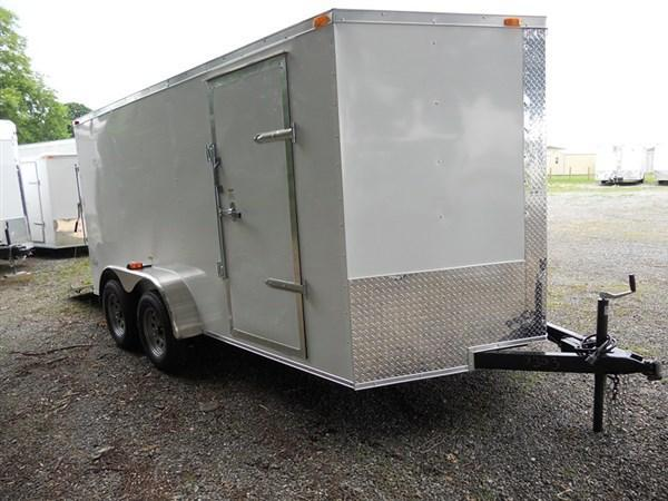 2018 Cynergy 7 x 16 TA  Enclosed Cargo Trailer with Ramp Door in Winnsboro, SC