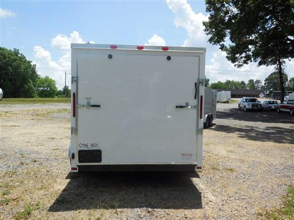 2018 Cynergy 7 x 16 TA  Enclosed Cargo Trailer with Ramp Door