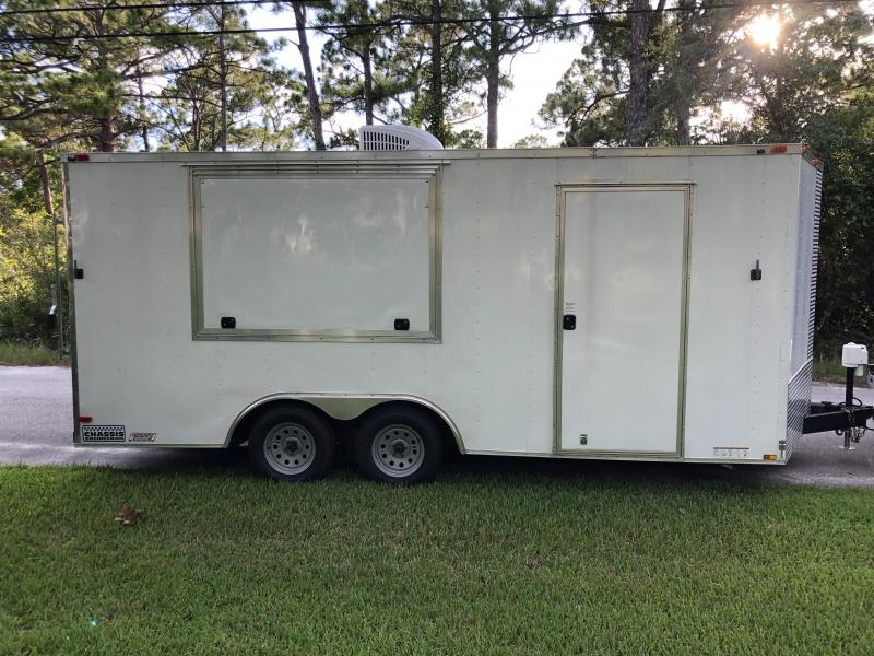 2016 Diamond Cargo DC8.5x18TA2 Vending / Concession Trailer