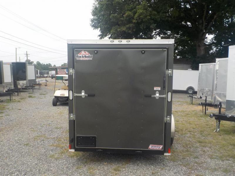 2020 Rock Solid Cargo RS6X12TA Enclosed Cargo Trailer