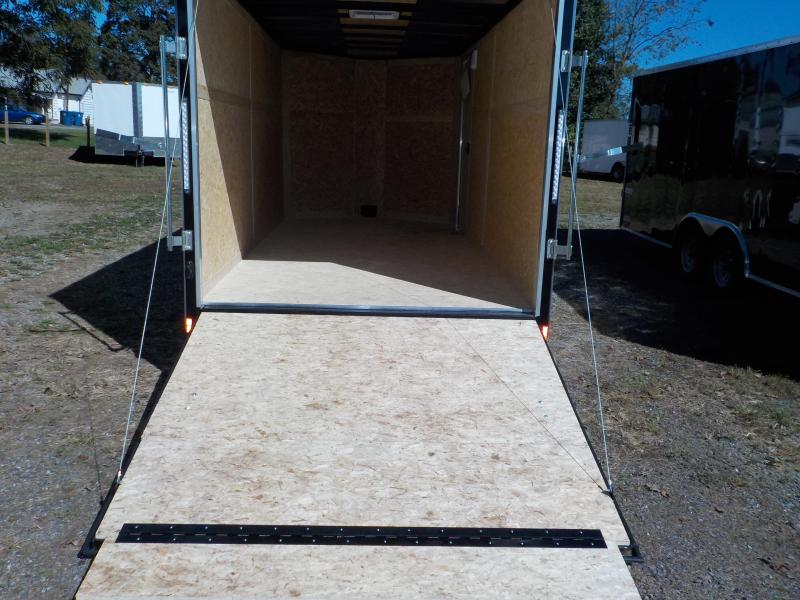 2019 Pace American JV7X16TE2 Enclosed Cargo Trailer w/Ramp Door