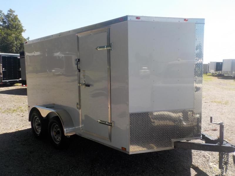 2019 Cynergy Cargo CCL7X12TA Enclosed Cargo Trailer in Mills River, NC