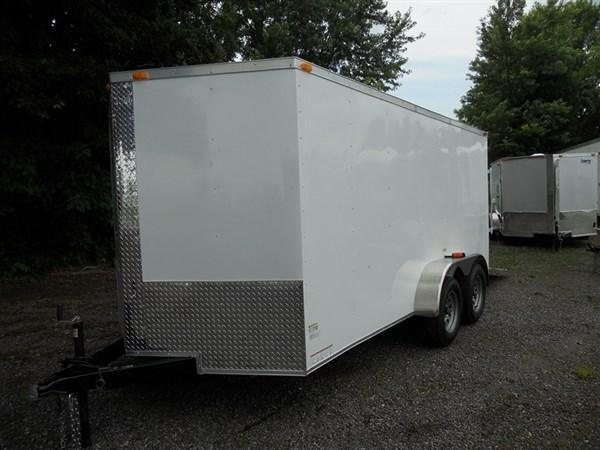 2019 Cynergy 7 x 16 TA  Enclosed Cargo Trailer with Double Door in Mills River, NC