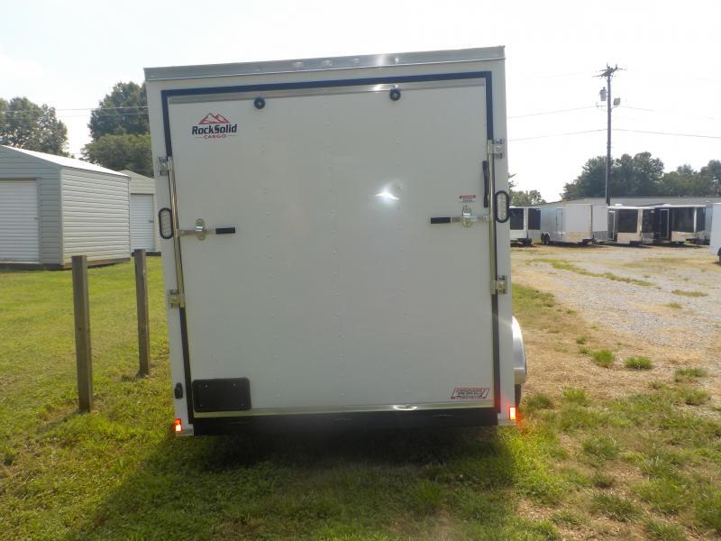 2019 Rock Solid Cargo RS7X14TA Enclosed Cargo Trailer w/Ramp Door
